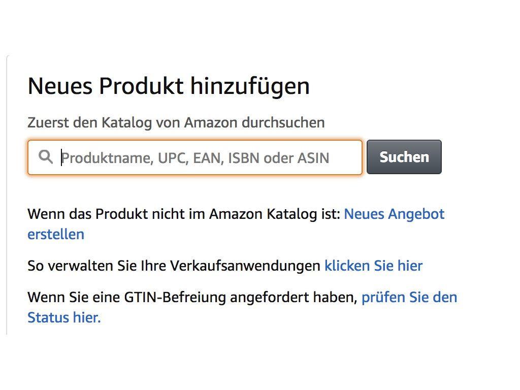 Amazon Varianten Anlegen Ecommerce Tobias Stephan